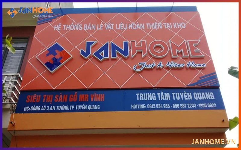 Chi nhánh JanHome Bắc Ninh