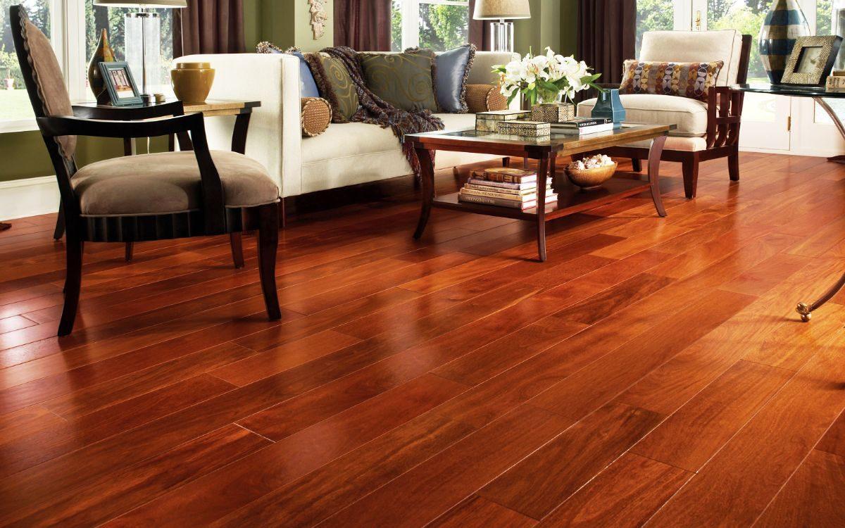 hình ảnh sàn gỗ phòng khách