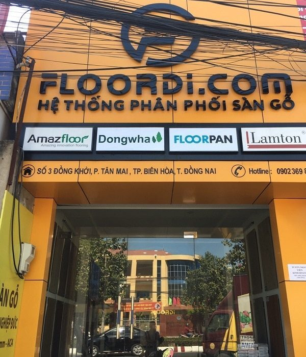 Showroom Sàn Gỗ FLOORDI Đồng Nai