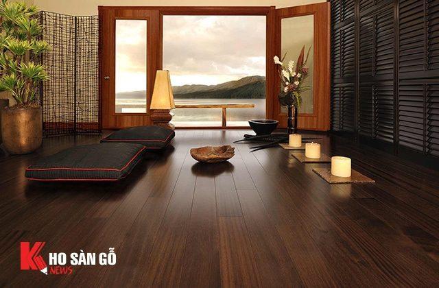 Sàn gỗ A.C WOOD tại Bạc Liêu