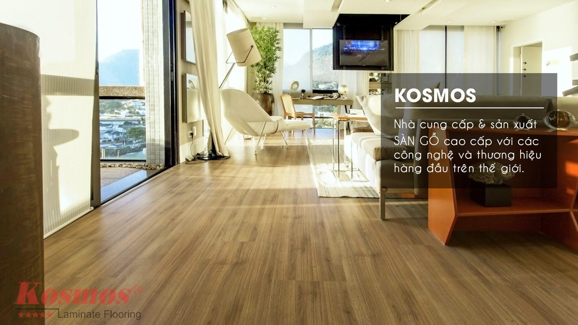 hình ảnh sàn gỗ công nghiệp Kosmos