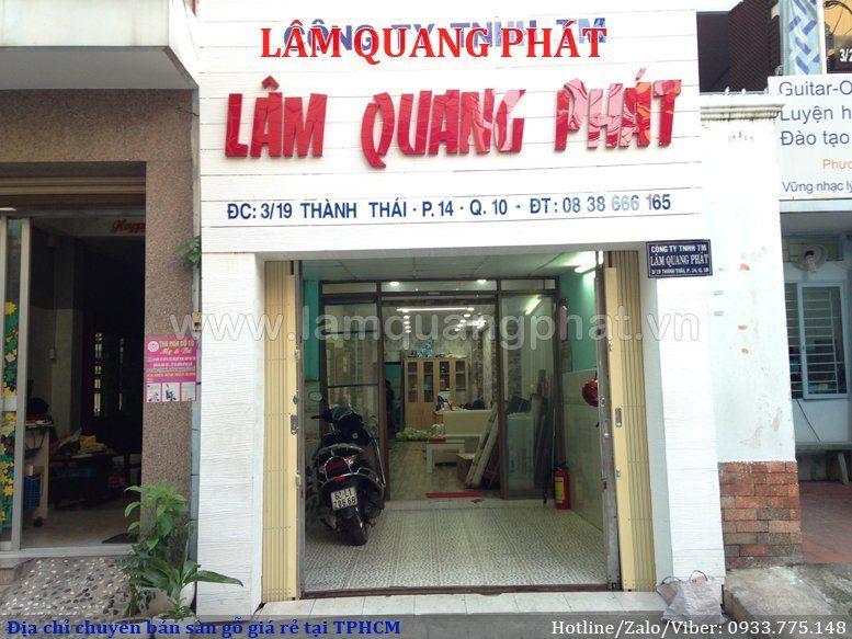 Sàn Gỗ Lâm Quang Phá tại Quận 10