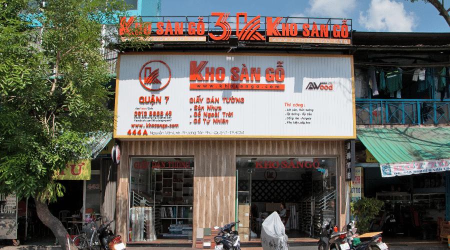 Kho Sàn Gỗ Quận 7 HCM