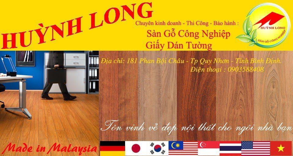 Sàn gỗ Huỳnh Long tại Quy Nhơn