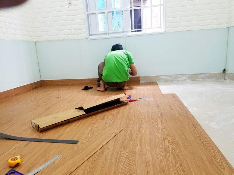 sàn gỗ nhựa vinyl