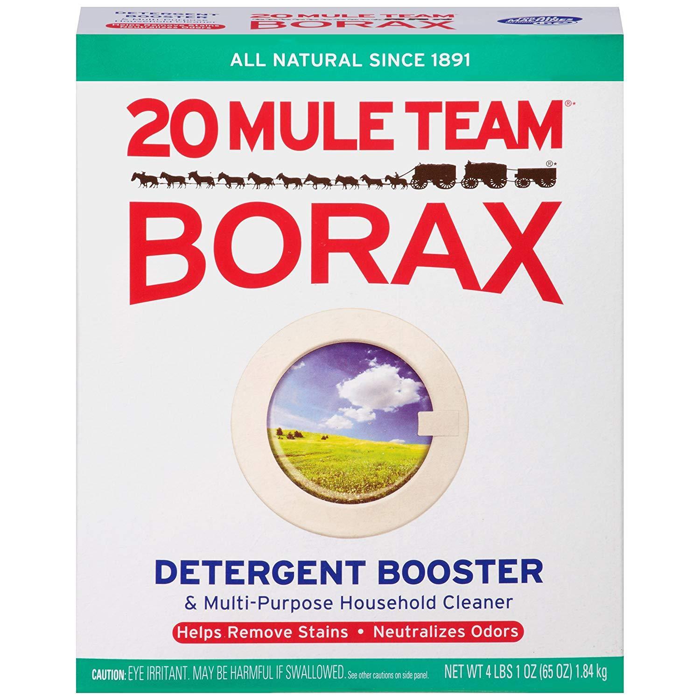 Borax không những giúp loại bỏ vết ố trên quần áo mà còn tẩy sạch được vết nước chè trên sàn nhà