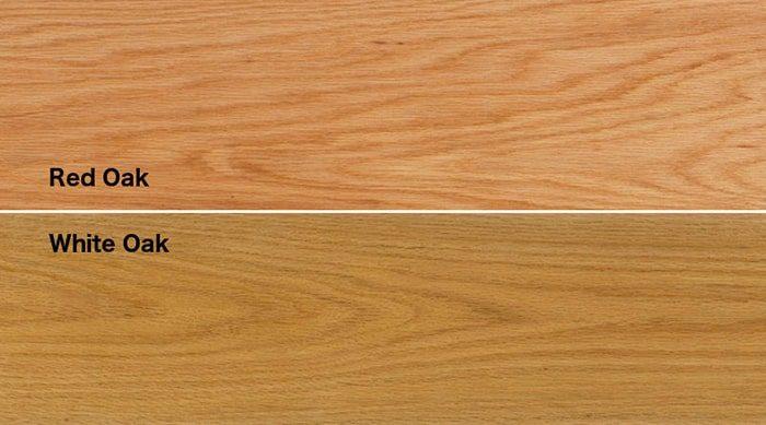 phân biệt gỗ sồi