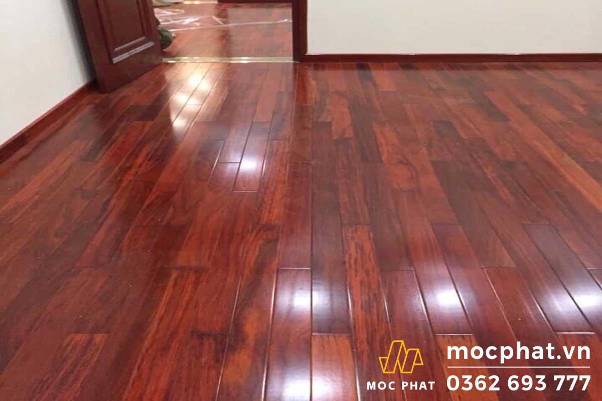 Sàn gỗ hương đỏ Nam Phi