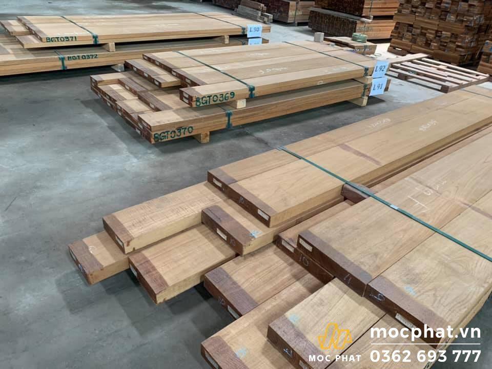 các loại gỗ teak