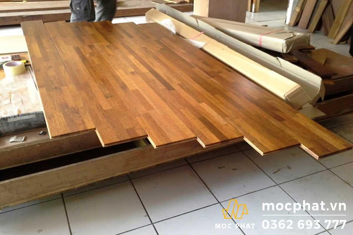 Sàn gỗ tự nhiên mang vẻ đẹp của thiên nhiên