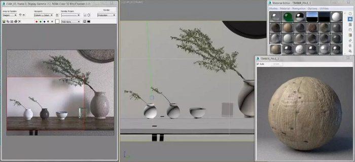 Tìm hiểu về 3ds Max - Bám sát với nhiếp ảnh thực tế