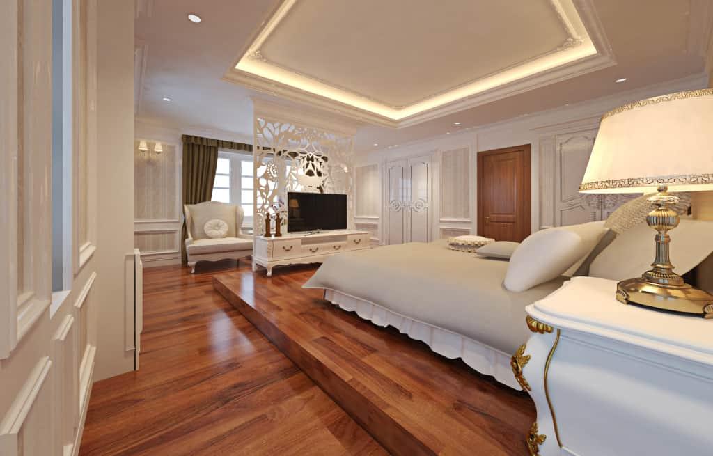 Nội thất sàn gỗ Quang Trình