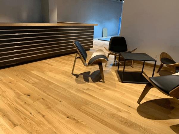 Hình ảnh sàn gỗ sồi