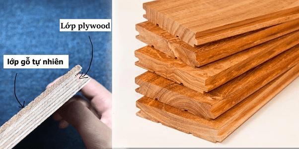 phân biệt sàn gỗ
