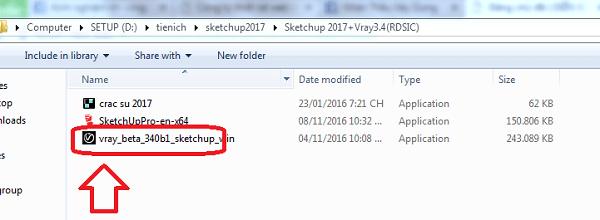 Tải và cài đặt Vray 3.4 sketchup 2020
