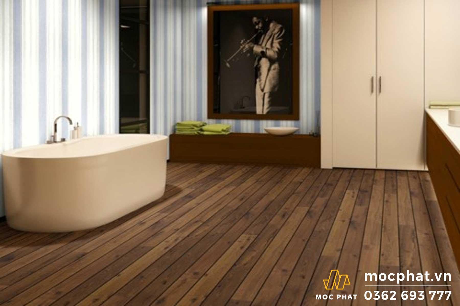 Mộc Phát- công ty đi đầu về lĩnh vực thi công, lắp đặt sàn gỗ