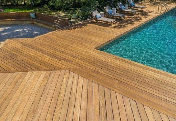 Gỗ Teak Lào - Sàn gỗ tự nhiên cho các công trình ngoài trời