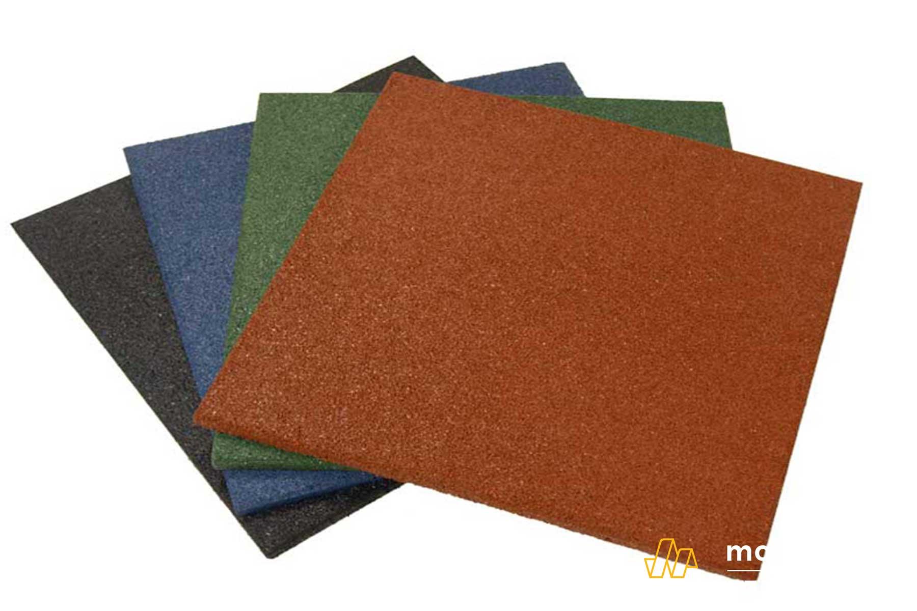 Sàn nhựa cao su cách âm và cách nhiệt tốt hơn rất nhiều sàn nhựa PVC
