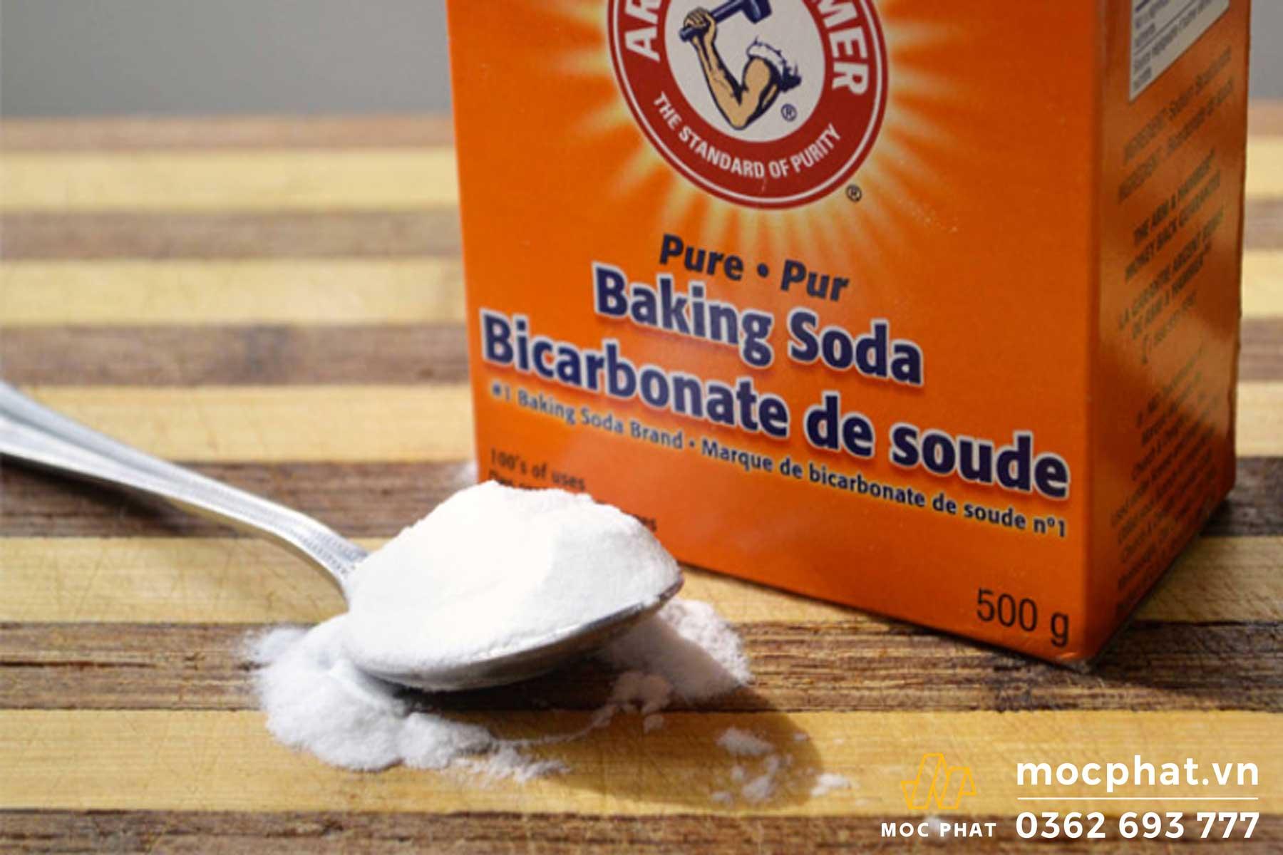 Baking soda khử mùi cao su vô cùng hiệu quả