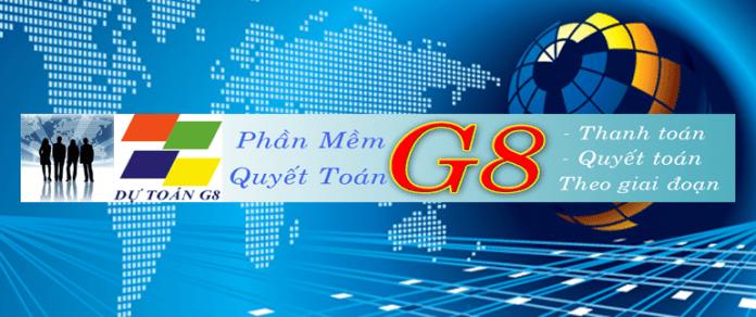 Hướng dẫn sử dụng phần mềm G8 dự toán chi tiết nhất