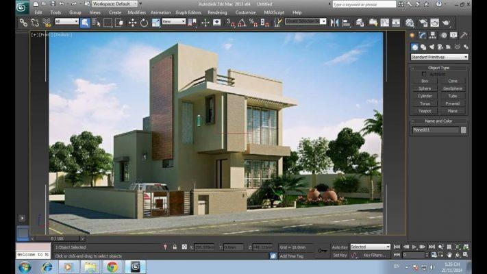 Phần mềm thiết kế 3ds Max