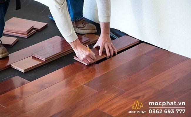 Sàn gỗ cho nhà tắm