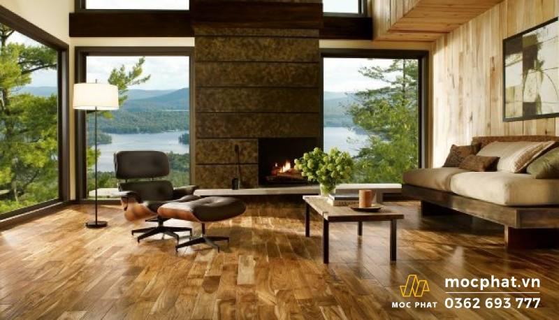 Sàn gỗ tự nhiên cách bảo quản Sàn gỗ tự nhiên