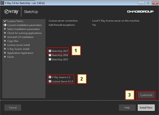 Hướng dẫn tải và cài đặt Vray 3.4 sketchup