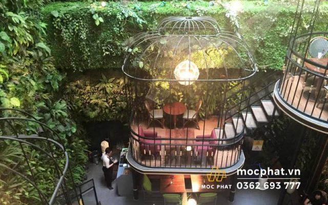 Quán cafe terrace SaiGon Center