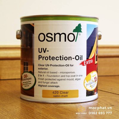 Dầu lau Osmo- dầu lau gỗ an toàn và tốt nhất hiện nay