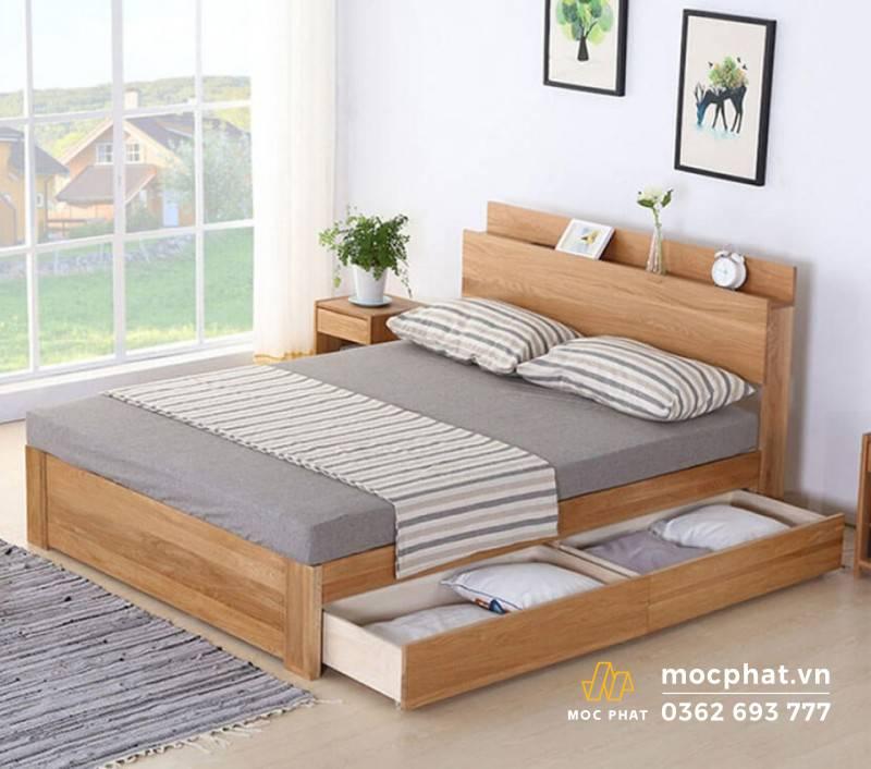 Giường ngủ công nghiệp có tủ đa dạng mẫu mã, phong phú màu sắc
