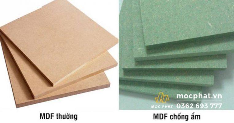 Ưu điểm của gỗ MDF chống ẩm
