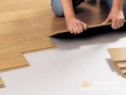 Cách xử lý sàn gỗ bị phồng