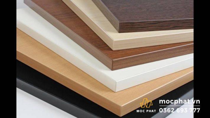 Hình ảnh gỗ MDF bề mặt melamine