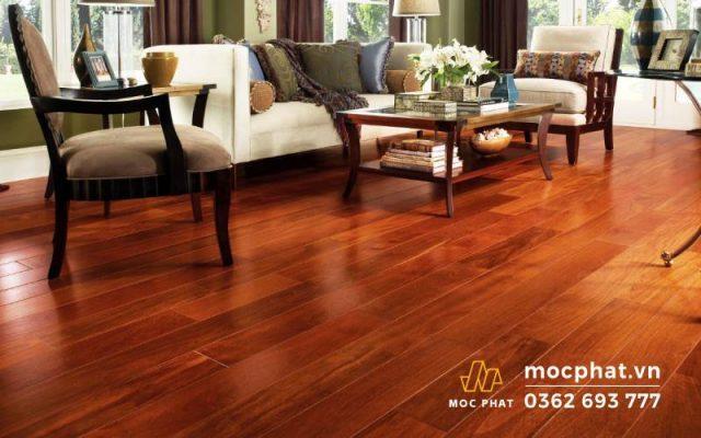 Sàn gỗ lắp phòng khách