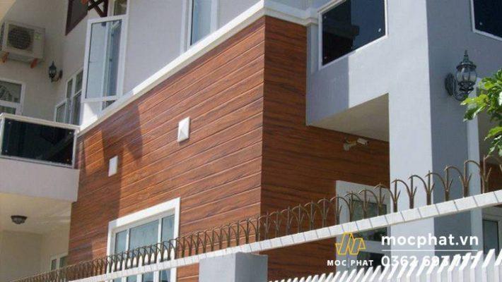 Tấm ốp tường giả gỗ không gây hại cho sức khỏe con người