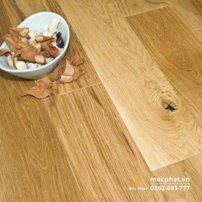 Sàn gỗ kỹ thuật từ gỗ sồi
