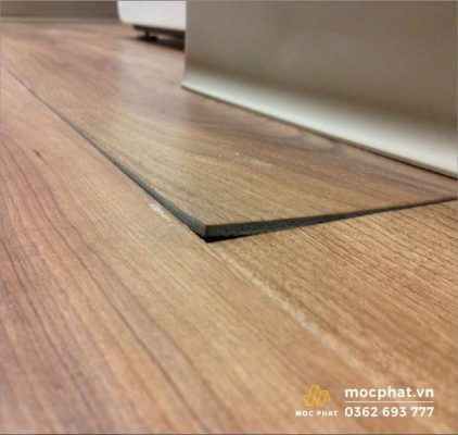 Sàn gỗ bị cong do sử dụng sai cách