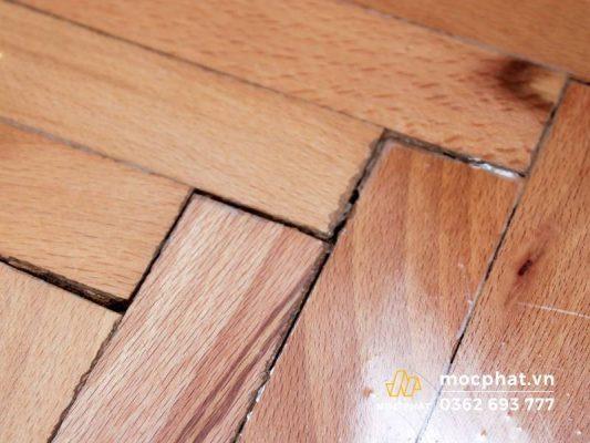 Sửa chữa sàn gỗ công nghiệp bị hở hèm khóa