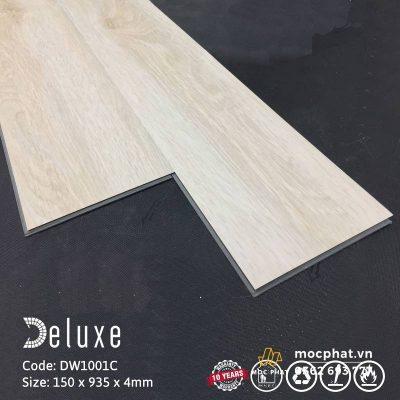 Sàn nhựa giả gỗ có hèm khóa Deluxe