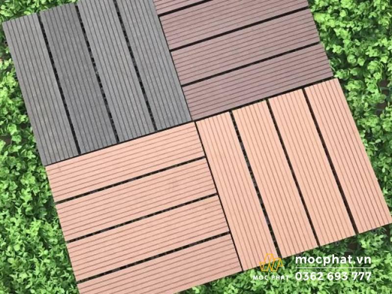 Sàn gỗ nhựa Composite an toàn cho môi trường và con người