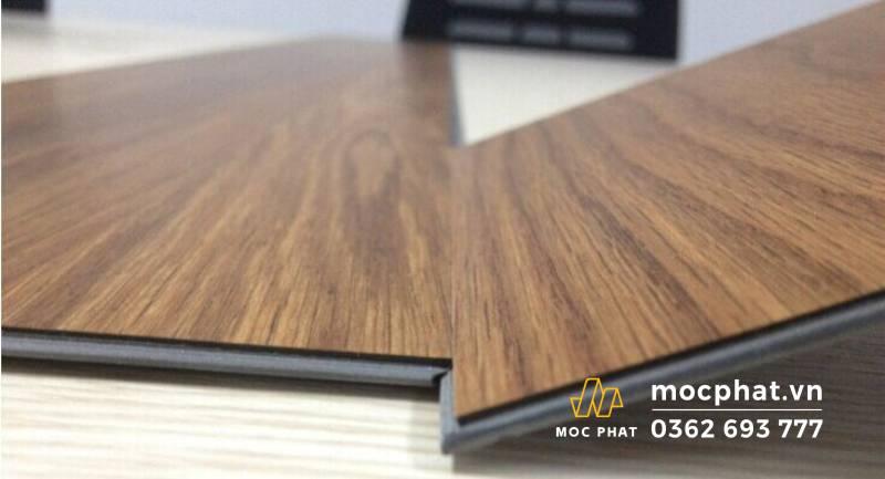 Sàn nhựa giả gỗ hèm khóa Railflex