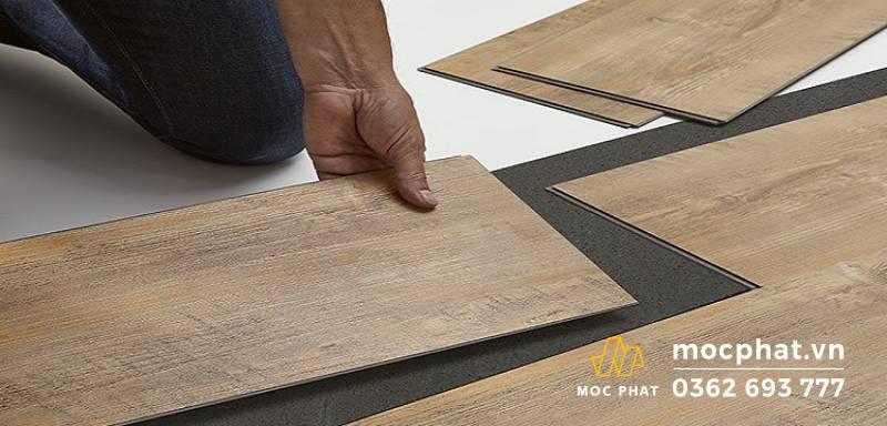 Sàn nhựa có hèm khóa giả gỗ Vinyl - Sàn gỗ nhựa có hèm khóa tốt nhất