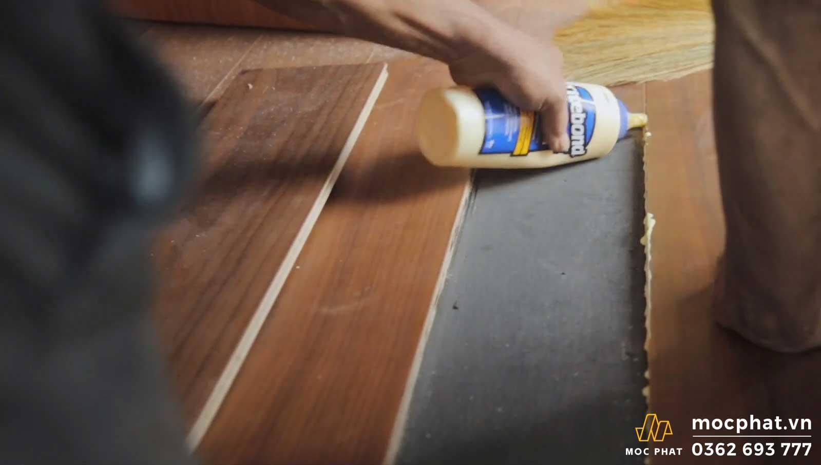 sửa chữa sàn gỗ