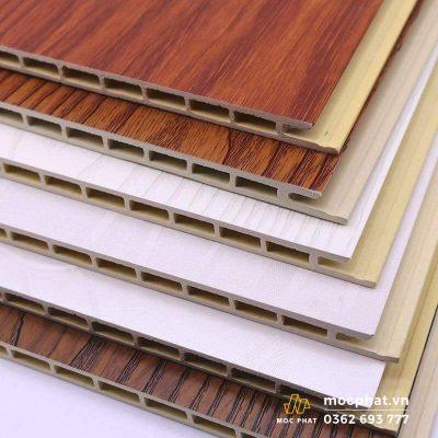 Hình ảnh nhựa giả gỗ ốp tường