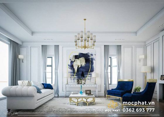 Dịch vụ thi công nội thất chung cư theo phong cách tân cổ điển