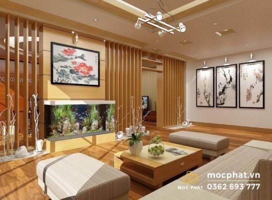 Không gian nội thất phù hợp với người mệnh thổ