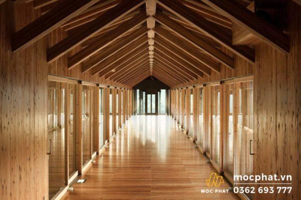 top công trình san gỗ đẹp - Bảo tàng Yusuhara – Nhật Bản