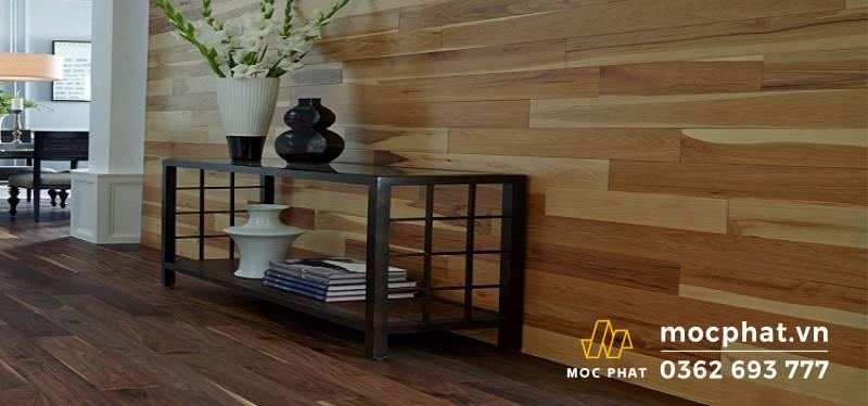 Cách chọn nhựa giả gỗ ốp tường