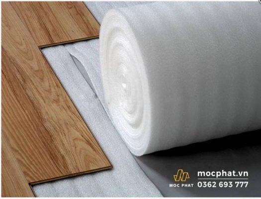 Xốp trắng lót sàn- phụ kiện sàn gỗ không thể thiếu